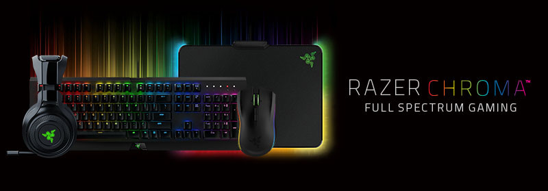 Razer Chroma Gaming Accessories Full Spectrum Gaming At Box