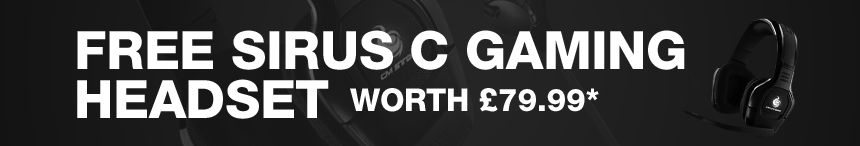 Free Cooler Master Sirus-C Gaming Headset - Worth £79.99*