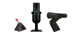 Microphones, Webcams and other accessories