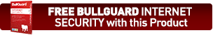 Free 12 Month Internet Security worth £24.99 from Bullguard!