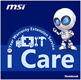 Supplied with - Free  MSI 1 year Warranty Extension
