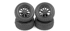 Radio Controlled Car Tyres and Wheels