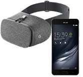 Free ZenphoneAR Mobile Phone & Google Daydream VR Headset