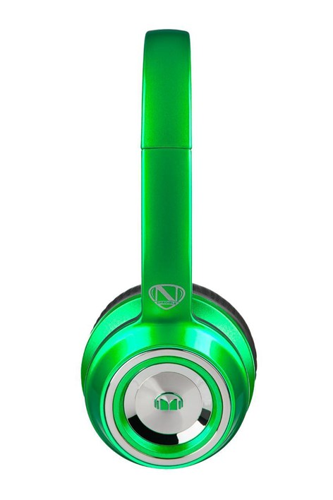Monster NCredible NTune Candy On-Ear Headphones (Lime Green)