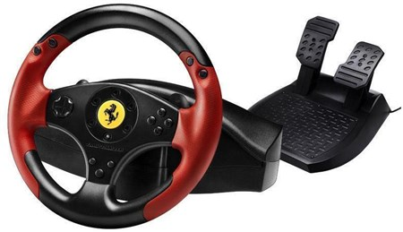Thrustmaster Ferrari Racing Wheel Red Legend Edition (PS3 / PC), 4060052