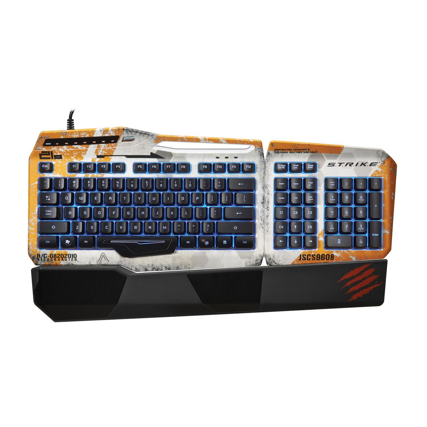 Mad Catz Titanfall S.T.R.I.K.E. 3 Gaming Keyboard