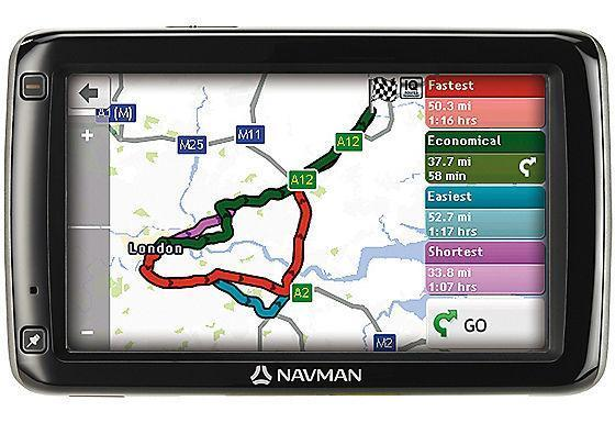 "Mio Navman 695LM 5"" Screen, Free Lifetime Map & Traffic Updates"