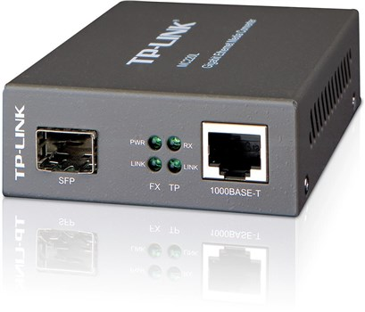 TP-Link MC220L Gigabit SFP Media Converter,