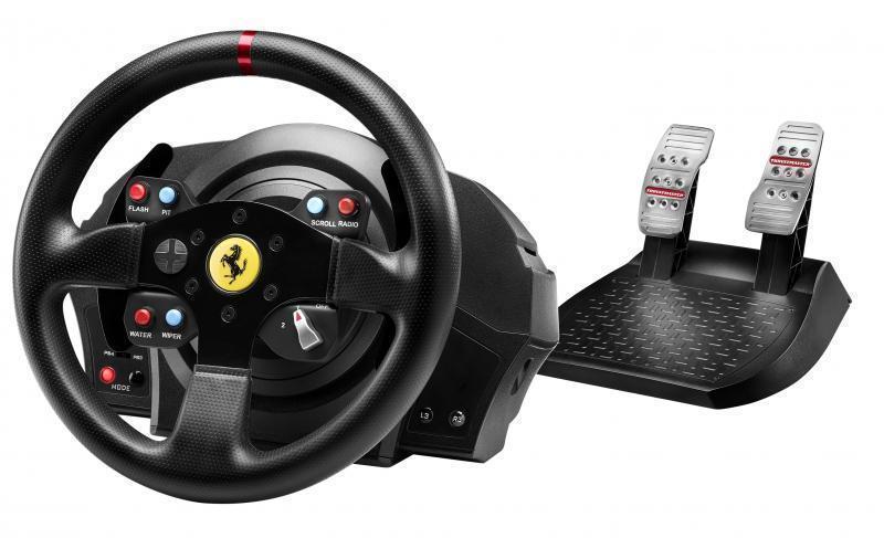 Thrustmaster T300 Ferrari GTE Wheel for PC / PS3 / PS4
