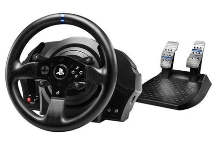 Thrustmaster T300RS Racing Wheel and Pedals For PS4 | PC Works With PS5 Games, 4168049
