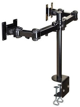 NewStar FPMA-D960D Flat Screen Desk Mount for 2 Screens upto 27 inches,