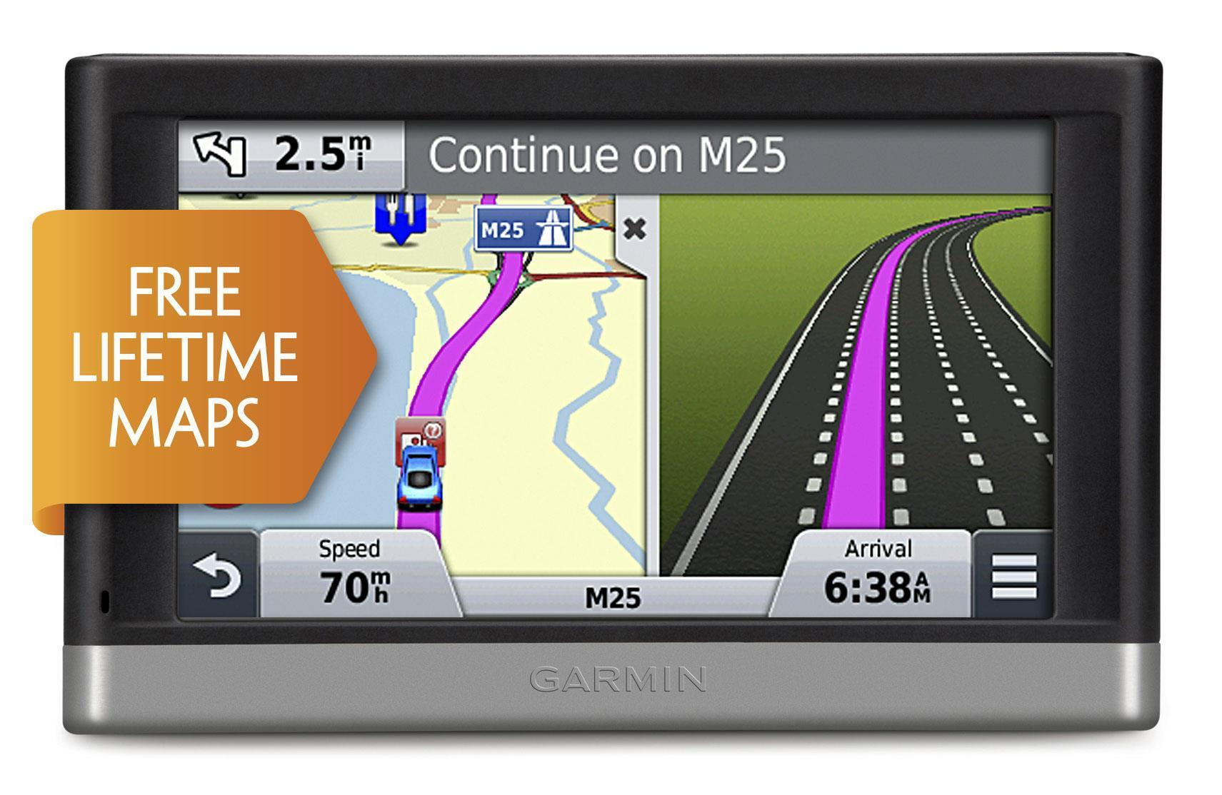 "Garmin Nuvi 2517LM 5"" Bluetooth UK & IRE Map Sat Nav with Lifetime Map Updates"