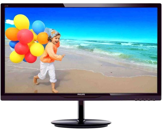 "Great Value 24"" Full HD Monitor with Speakers"