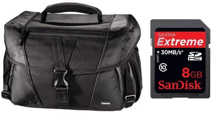 "Hama ""Rexton"" 170 Camera Bag & 8gb SDHC Bundle!"