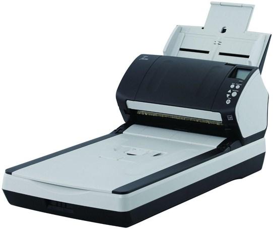 Fujitsu Fi-7280 Sheetfed Flatbed Scanner