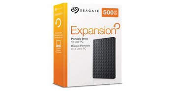 Seagate 500GB Expansion Portable Hard Drive