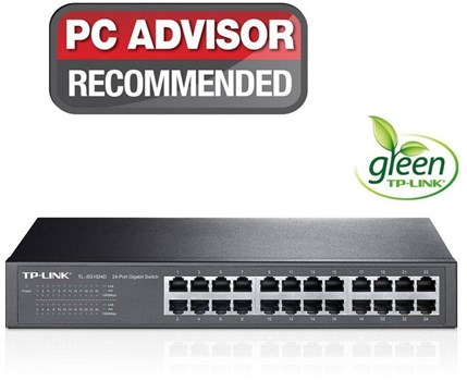 TL-SG1024D, TP-Link TL-SG1024D 24-Port Gigabit Desktop/Rackmount Switch