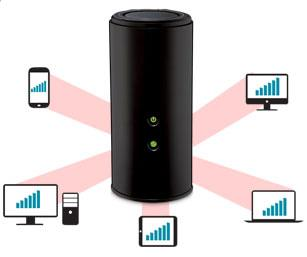 D-Link DIR-868LWireless AC1750 Dual-Band Gigabit Cloud Router