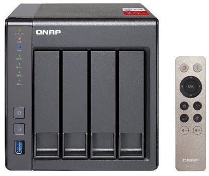 TS-451+-2G, QNAP TS-451+-2G 4-Bay Desktop NAS (Network-Attached Storage) Enclosure