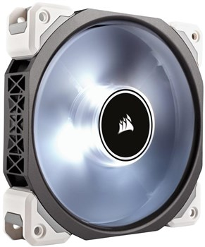 CO-9050041-WW, Corsair ML120 PRO LED White 120mm PWM Premium Magnetic Levitation Case Fan - Single Pack