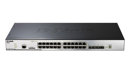 DGS-3120-24TC/SI, D-Link 24-port Gigabit Layer 2 Stackable Managed Switch