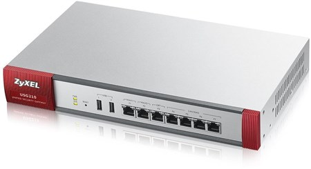 USG210-GB0102F, ZyXEL USG210 Always-on network security for small- to medium-sized businesses