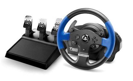 Thrustmaster T150 Pro Force Feedback Racing Wheel for PS4, 4168059