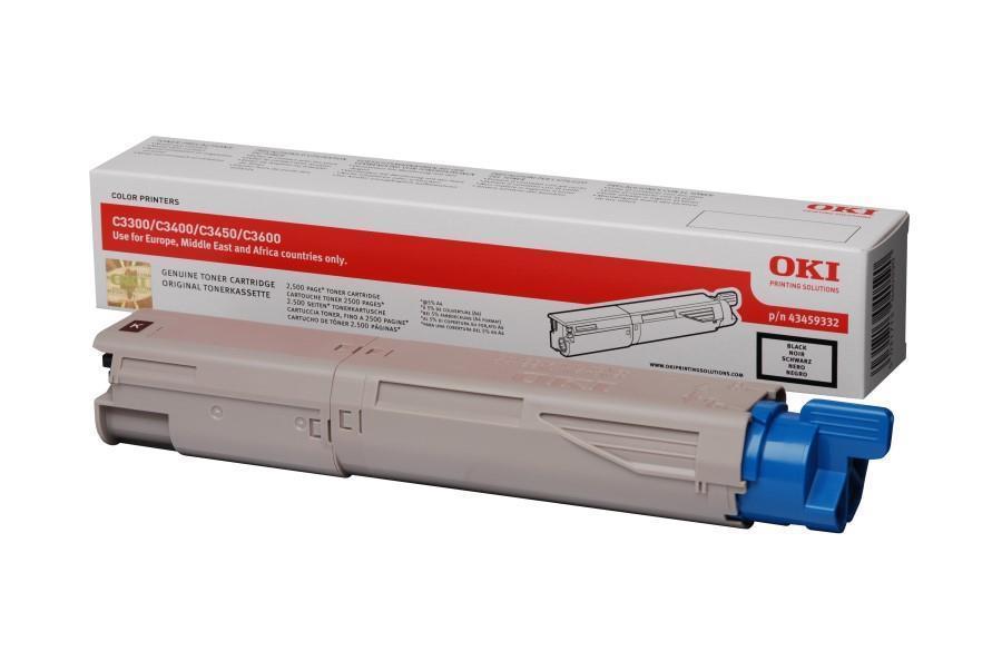 Image of OKI 43459332 High Capacity Black Toner Consumable