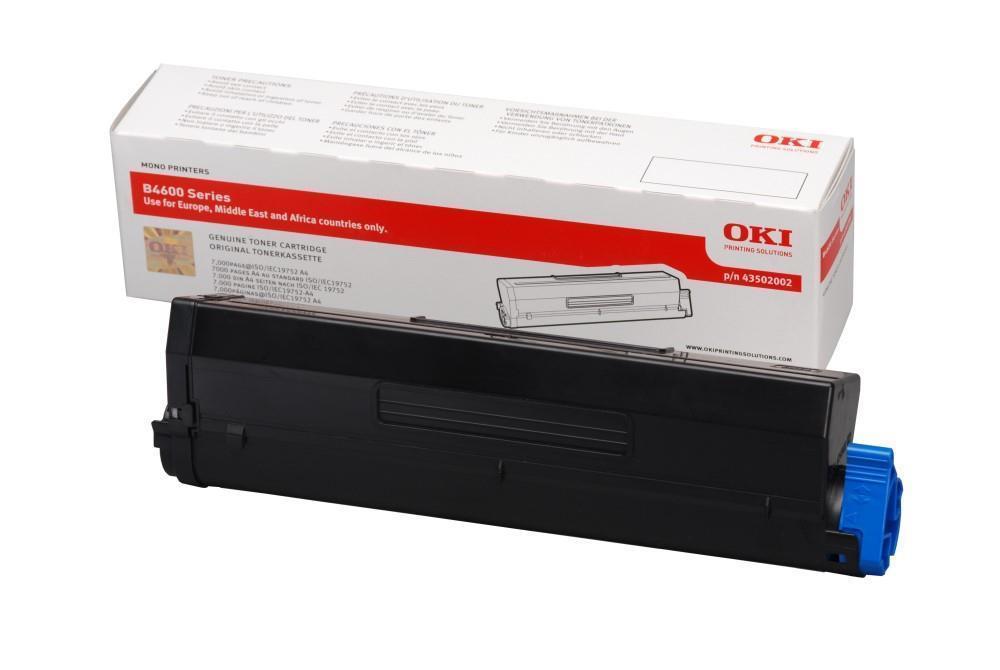 Image of OKI 43502002 Black High Capacity Toner Consumable
