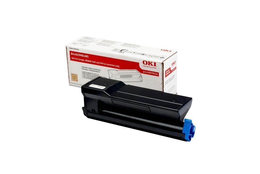 Image of OKI 43979216 High Capacity Black Toner Consumable