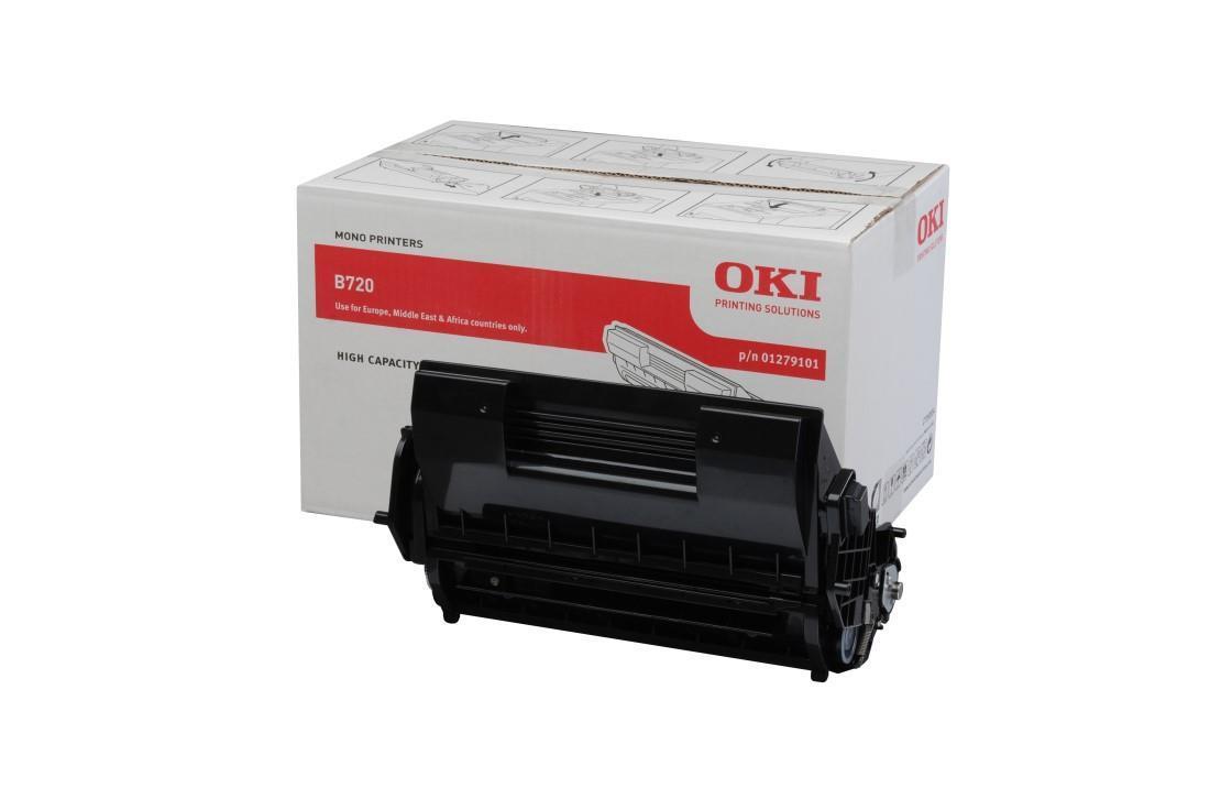 Image of OKI 01279101 High Capacity Black Toner Consumable