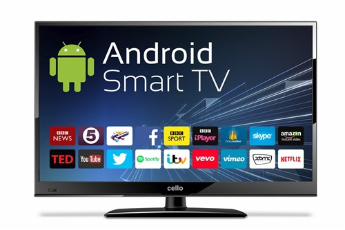 Cello C24ANSMT 24 Inch Android Smart LED TV with Wi-Fi and Freeview