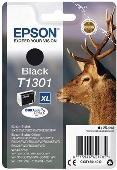 Epson C13T13014012 DURABrite Ultra T1301 Stag Black Ink Consumable,