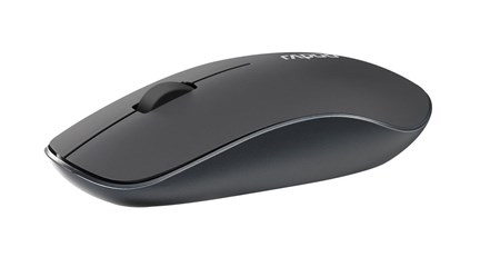 Rapoo 3510 2.4GHz Wireless Optical Mouse - Grey, 16978