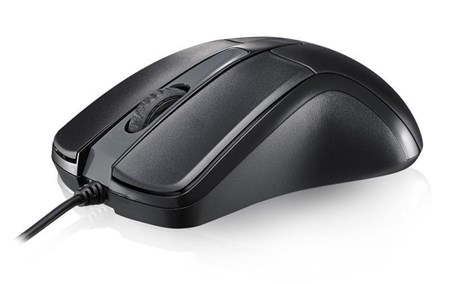 Rapoo N1162 Wired Optical Mouse (Black), 13701