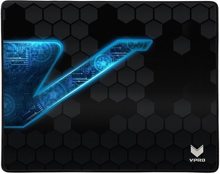 VPRO V1000 Gaming Mouse Mat (Black), 13823