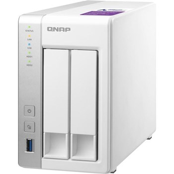 TS-231P, QNAP TS-231P 2-Bay NAS (Network-Attached Storage) Enclosure