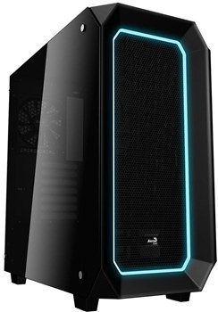 ACCM-P702013.11, Aerocool P7C0 10 Colour LED Mode Tempered Glass Midi Tower Case