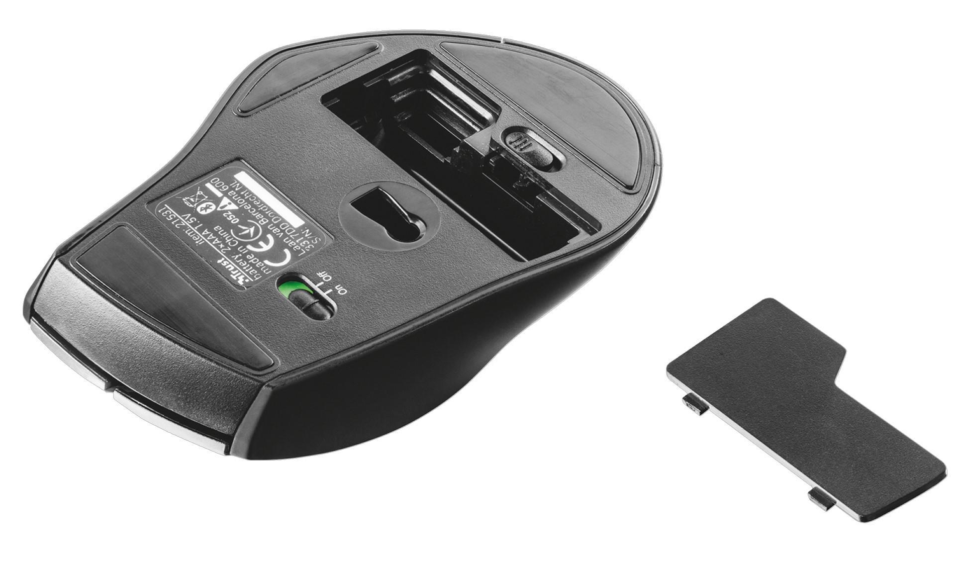 163cbc0e280 Trust MaxTrack Bluetooth Compact Mouse, 21531 | Box.co.uk