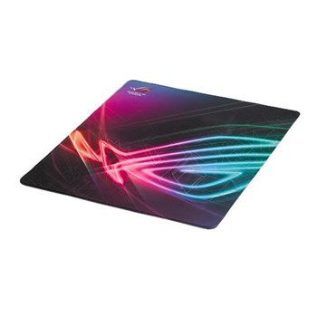 ASUS ROG Strix Edge Vertically Orientated Gaming Pad with Anti Fray Stitching and non slip rubber base, 90MP00T0-B0UA00