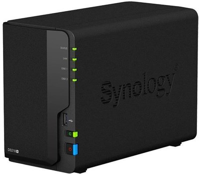 DS218+, Synology DS218+ 2-Bay Desktop NAS (Network-Attached Storage) Enclosure