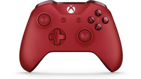 Microsoft Xbox One Wireless Controller - Red, WL3-00028