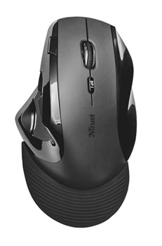 Trust Vergo Wireless Ergonomic Comfort Mouse, 21722