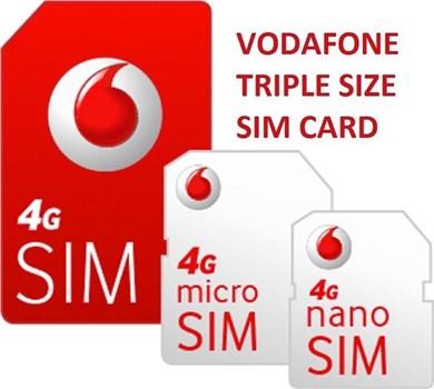Vodafone Payg Top Up >> Vodafone Payg 4g Sim Card