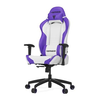 Vertagear Racing Series S-Line SL2000 Rev. 2 Gaming Chair - White | Purple Edition, VG-SL2000_WP