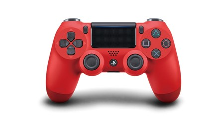Sony PS4 DualShock 4 Wireless Controller V2 - Red, 711719814153
