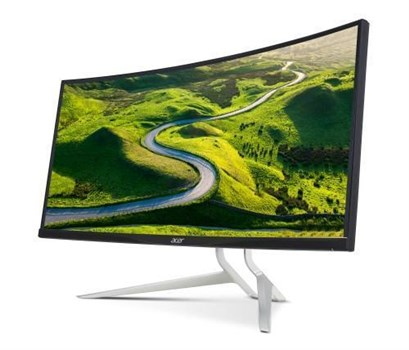 "Acer XR382CQK 37.5"" 4K UHD IPS FreeSync 75Hz Curved Gaming Monitor, UM.TX2EE.009"