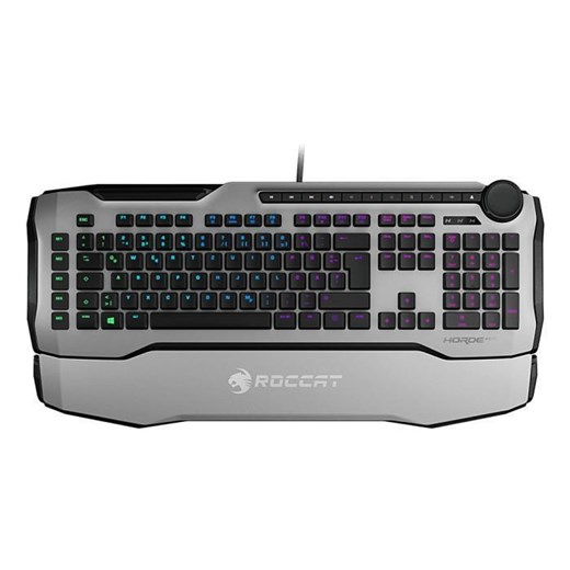 ROCCAT Horde AIMO Membranical RGB Gaming Keyboard UK Layout - White, ROC-12-352-WE