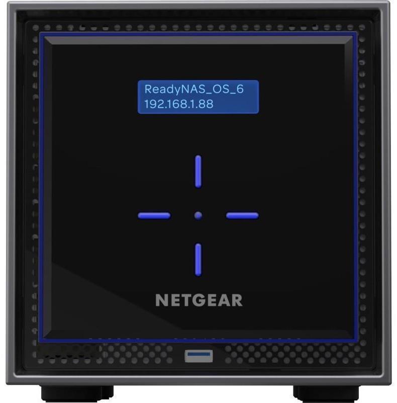 Netgear ReadyNAS RN424 4TB 4-Bay Desktop NAS with 4 x 1TB Seagate IronWolf  Drives