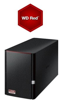 Buffalo LS520D/8TB-RED Linkstation™ 520 2-Bay 8TB(2x4TB WD RED) Consumer NAS,